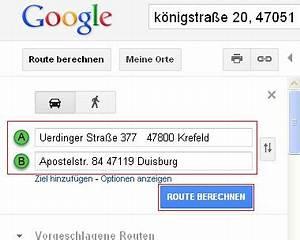 Maps Google Route Berechnen : google maps reiseroute per e mail an alle mitreisenden ~ Themetempest.com Abrechnung