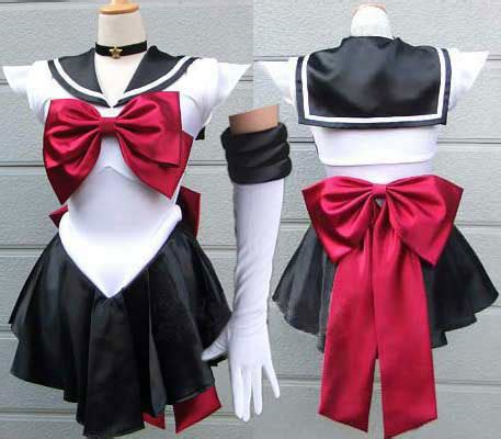 sailor pluto trista cosplay costume sailor moon dress