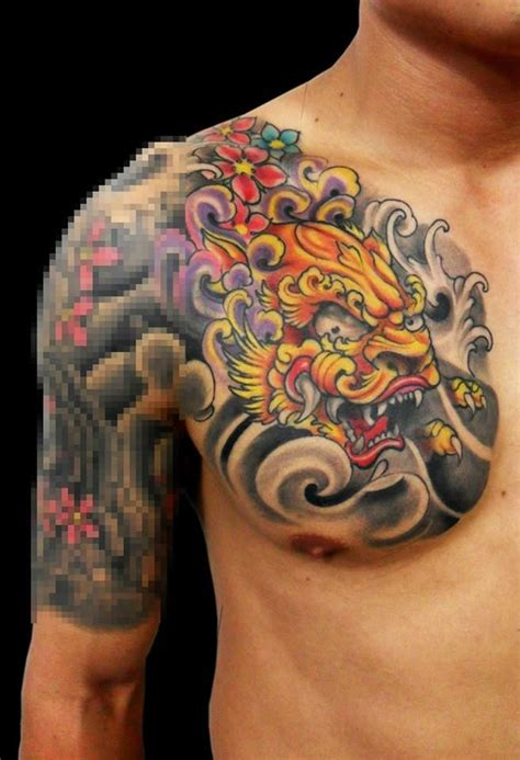 foo dog tattoo images  pinterest japan tattoo tattoo ideas  dog tattoos