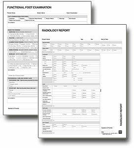 free forms the paperwork project With chiropractic x ray report template