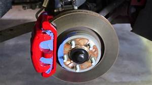 Brake Caliper Painting With G2 Epoxy Paint On 2015 Ford