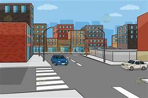City Street Cartoon Background   www.imgkid.com - The ...