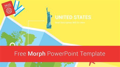 slidesalad  morph travel powerpoint template youtube