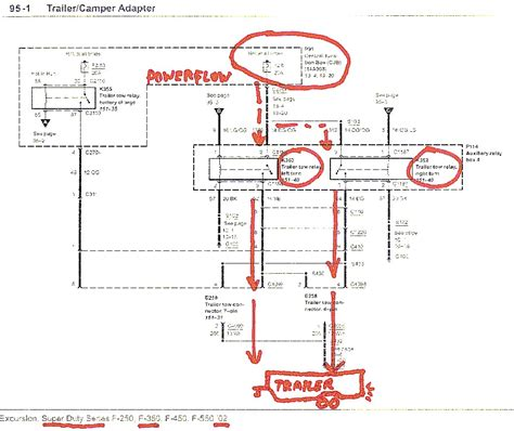 2004 Ford F 650 Wiring Diagram by 2004 F 250 Ford Trailer Wiring Diagram Wiring Library