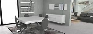 mobilier moss salles a manger completes meubles de With salle À manger contemporaine avec mobilier salle À manger contemporain