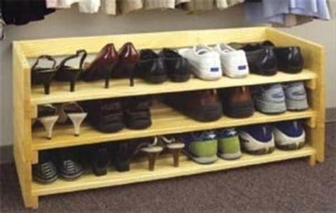 stackable shoe rack woodworking plan woodworkersworkshop
