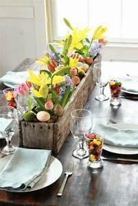 Tischdeko Mit Holz : tischdeko zu ostern selbst basteln ~ Eleganceandgraceweddings.com Haus und Dekorationen