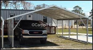 18x21x6 Two Car Steelcarport Carport Empire