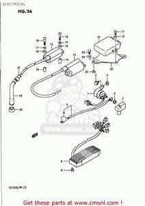 Suzuki Vs700glp Intruder 1989  K  Usa  E03  Electrical