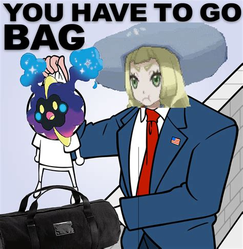 Nebby Memes - you have to go bag get in the bag nebby know your meme