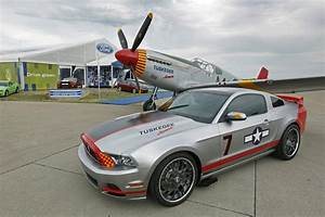 2013 Mustang GT Livered After P-51 Fighter - autoevolution