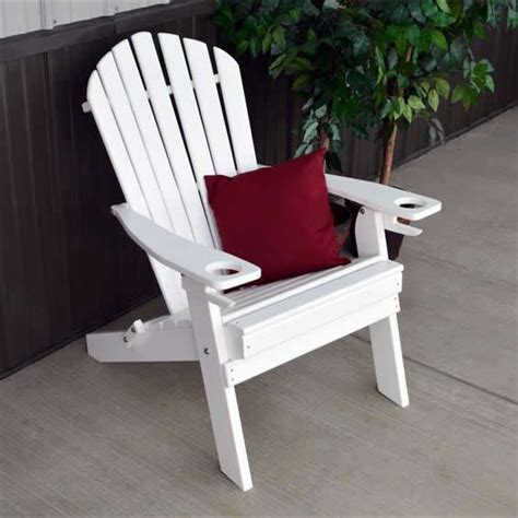 Outer Banks Polywood Folding Adirondack Chair by Loggerhead Outerbanks Folding Adirondack Chair