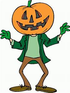 Pumpkin Man Clipart - ClipartXtras