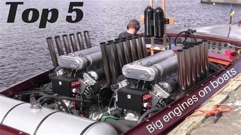 Small Boat Engine by Top 5 Big Engines In Small Boats Inboard Open Boat Doovi