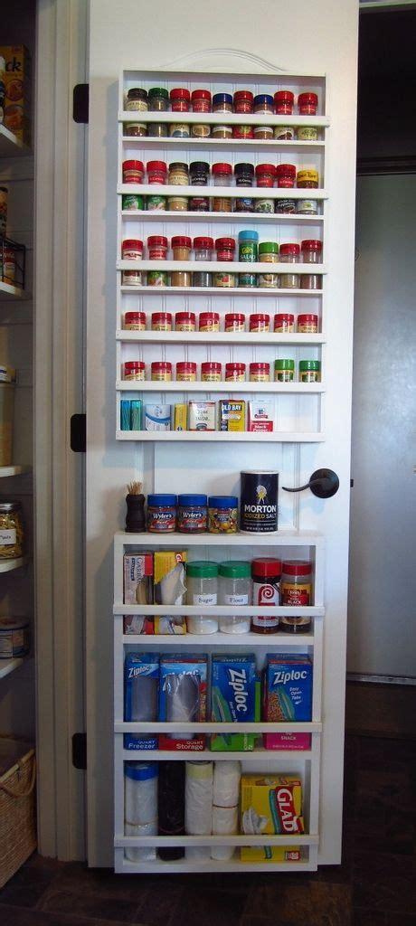 kitchen pantry door storage diy pantry spice rack door spice rack hollow doors 5483