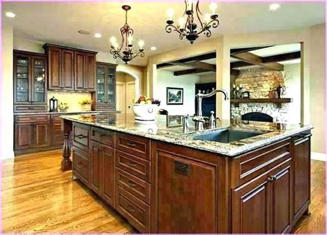 kitchen islands with sink and dishwasher kitchen islands with sinks farmhouse sink in kitchen 9474