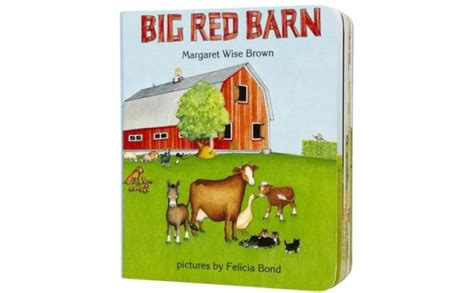 Big Red Barn By Margaret Wise Brown|sturdy Board Book