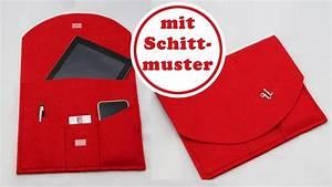 Laptoptasche Selber Nähen : pad case aus filz n hen kleine aktentasche nur 3 n hte ~ Kayakingforconservation.com Haus und Dekorationen