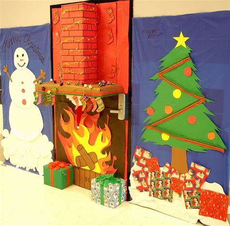 christmas door decorations ideas   front