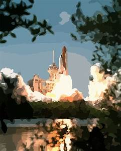 Space Shuttle Take Off Clip Art - Pics about space