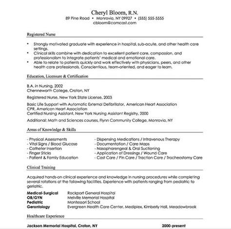 resume format exles