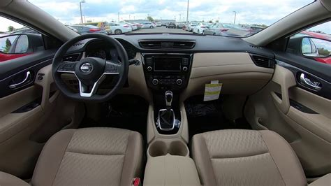 nissan rogue sv interior youtube