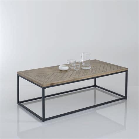 la redoute table cuisine nottingham parquet top coffee table polished pine la