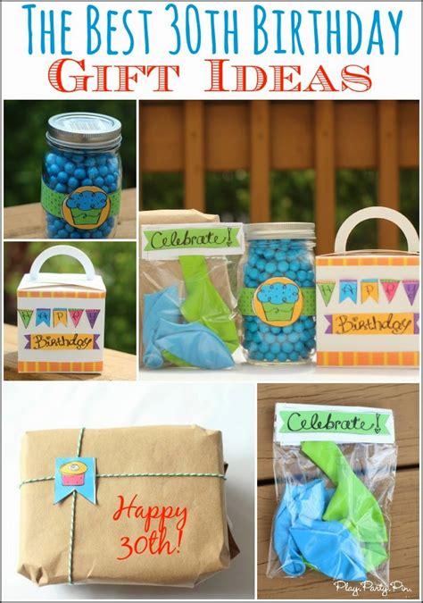 present birthday ideas birthdays 30 creative 30th birthday gift ideas for him that he will Great