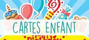 Carte Anniversaire Pour Enfant : carte anniversaire femme virtuelle gratuite carte virtuelle anniversaire gratuite pour femme ~ Melissatoandfro.com Idées de Décoration
