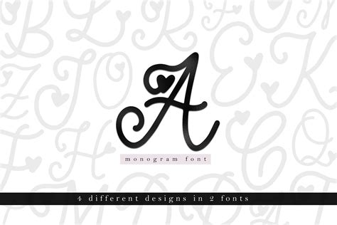 handwritten monogram font  styles  vector art psd templates  fonts graphics