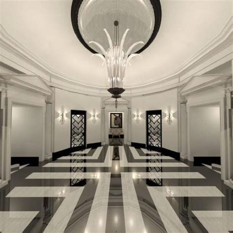 Flur Design Ideen by Phoebe Howard Black White Marble Floor