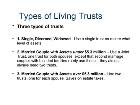 living trust estate planning with a living trust