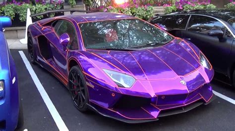lamborghini aventador purple epic chrome purple lamborghini aventador by lb performance