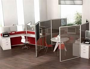 Cloison Acoustique Bureau : cloison de bureau ~ Premium-room.com Idées de Décoration