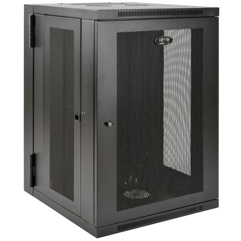 wall mount rack tripp lite 18u smartrack wall mount rack enclosure cabinet