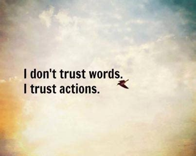 trust action  words  ultimate fundraiser blog