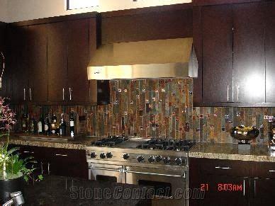 rust slate backsplashes kitchen design  united states