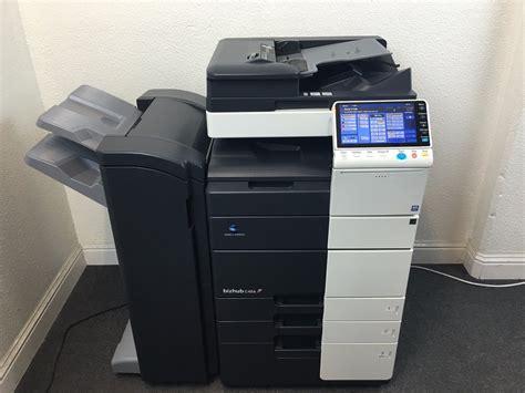 Faites évoluer votre environnement de travail. Konica Minolta Bizhub C454 Copier Printer Scanner with Fax ...