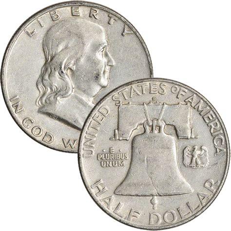 silver half dollar value 90 silver franklin half dollars roll of 20 10 face value ebay