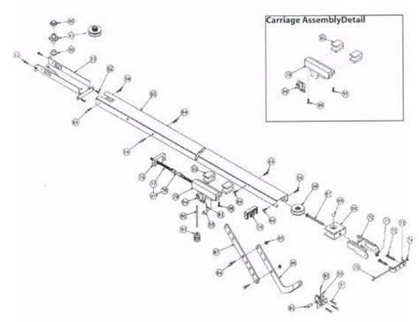 overhead door parts garage door parts overhead garage door parts
