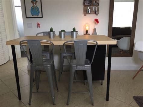 Cuisine Ilot Central Table Manger 412 by 2 En 1 206 Lot De Cuisine Ikea Et Table Pas Cher En Diy