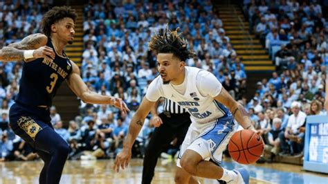uncs cole anthony puts   show  college basketball