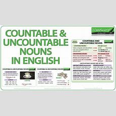 Countable And Uncountable Nouns In English Youtube