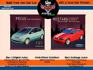 Mod The Sims 11 Cool Car Poster Recolors