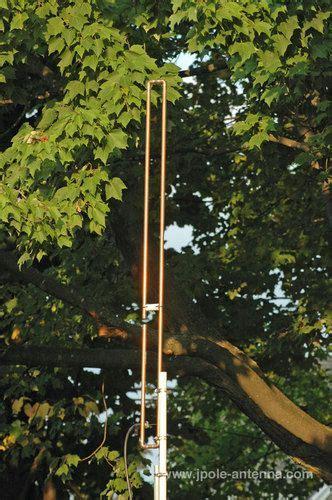 details about authentic kb9vbr 2 meter vhf slim jim ham radio j pole base antenna ham