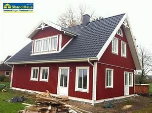 Schweden Farbe Rot : aussenanlage schwedenhaus baublog bv kathrin klaus ~ Whattoseeinmadrid.com Haus und Dekorationen