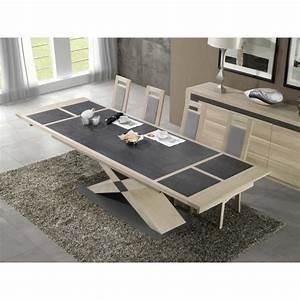 Table Bois Rectangulaire : table rectangulaire bois la maison design ~ Teatrodelosmanantiales.com Idées de Décoration