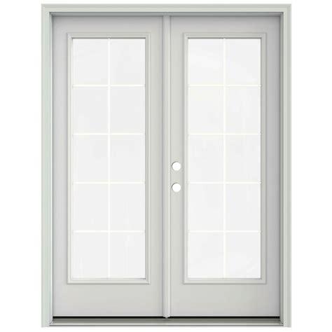 jeld wen patio doors reviews jeld wen 60 in x 80 in primed prehung right inswing