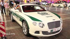 Dubai Police Bentley Continental GT - YouTube