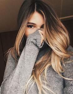 Ombré Hair Blond Foncé : ombr hair dor ombr hair les plus beaux d grad s de couleur elle ~ Nature-et-papiers.com Idées de Décoration